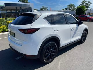 2017 Mazda CX-5 KE1022 Akera SKYACTIV-Drive i-ACTIV AWD White 6 Speed Sports Automatic Wagon