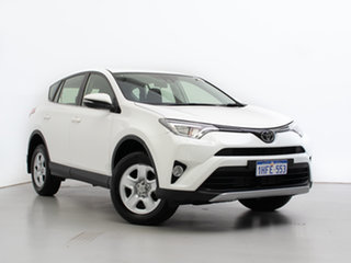 2018 Toyota RAV4 ALA49R MY18 GX (4x4) White 6 Speed Automatic Wagon.