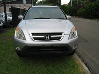 2003 Honda CR-V MY04 (4x4) Sport Silver 4 Speed Automatic Wagon.