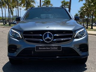 2018 Mercedes-Benz GLC-Class X253 809MY GLC250 d 9G-Tronic 4MATIC Grey 9 Speed Sports Automatic.