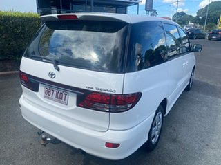 2005 Toyota Tarago ACR30R MY03 GLi White 4 Speed Automatic Wagon