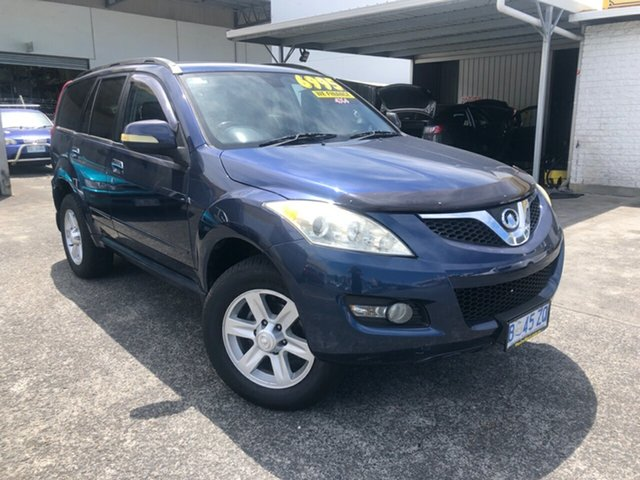 Used Great Wall X240 CC6461KY Derwent Park, 2011 Great Wall X240 CC6461KY Blue 5 Speed Manual Wagon