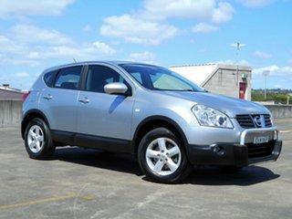2007 Nissan Dualis J10 Ti X-tronic AWD Silver 6 Speed Constant Variable Hatchback.