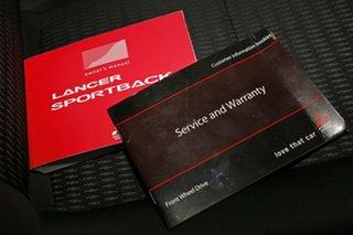 2012 Mitsubishi Lancer CJ MY12 Activ Sportback Silver 5 Speed Manual Hatchback