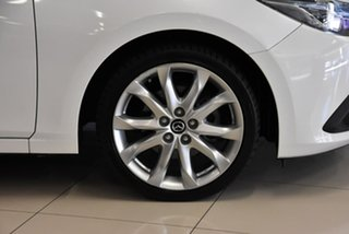 2015 Mazda 3 BM5238 SP25 SKYACTIV-Drive GT White 6 Speed Sports Automatic Sedan
