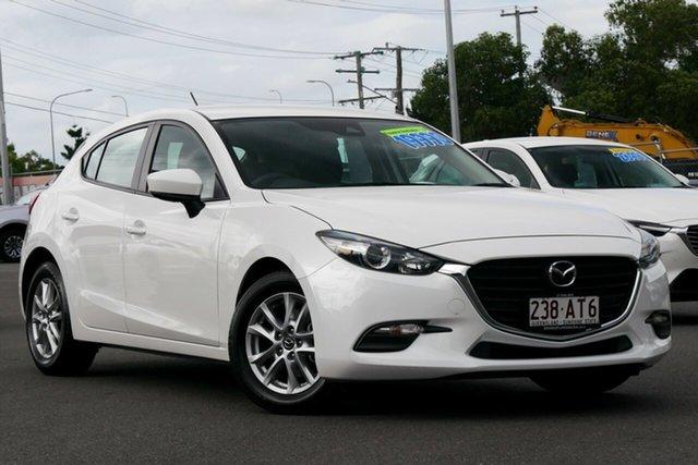 Used Mazda 3 BN5478 Neo SKYACTIV-Drive Hillcrest, 2017 Mazda 3 BN5478 Neo SKYACTIV-Drive White 6 Speed Sports Automatic Hatchback