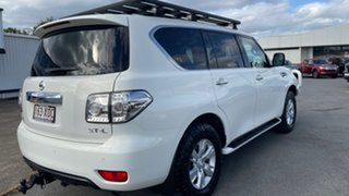 2014 Nissan Patrol Y62 ST-L White 7 Speed Sports Automatic Wagon