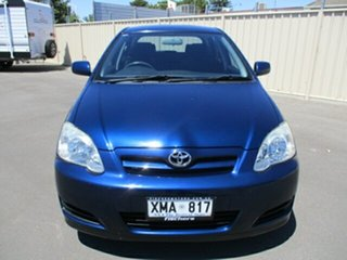 2005 Toyota Corolla ZZE122R Ascent Seca Blue 4 Speed Automatic Hatchback