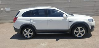 2013 Holden Captiva CG MY14 7 AWD LTZ White 6 Speed Sports Automatic Wagon.