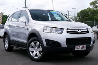 2012 Holden Captiva CG Series II MY12 7 SX Silver 6 Speed Sports Automatic Wagon.