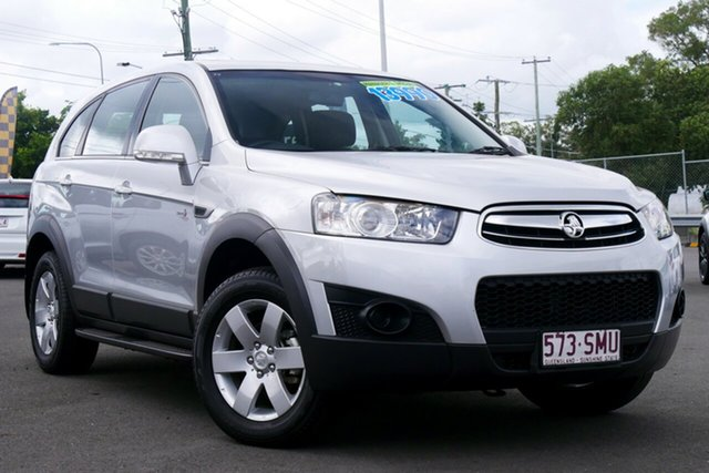Used Holden Captiva CG Series II MY12 7 SX Hillcrest, 2012 Holden Captiva CG Series II MY12 7 SX Silver 6 Speed Sports Automatic Wagon