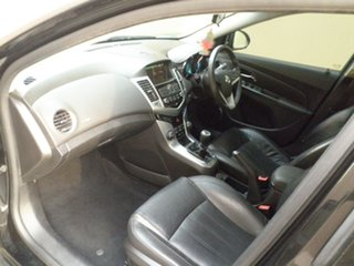 2011 Holden Cruze JH Series II MY11 SRi-V Black Quartz 6 Speed Manual Sedan
