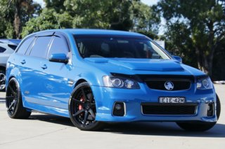 2012 Holden Commodore VE II MY12 SS-V Redline Edition Blue 6 Speed Manual Sportswagon.