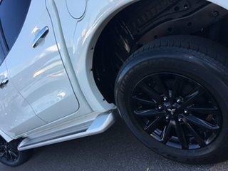 2017 Mitsubishi Triton MQ MY18 GLS Double Cab White 5 Speed Sports Automatic Utility