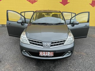 2012 Nissan Tiida C11 S4 TI Grey 4 Speed Automatic Hatchback.