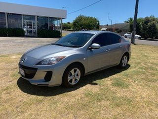 2011 Mazda 3 BL 11 Upgrade Neo Silver 6 Speed Manual Sedan.