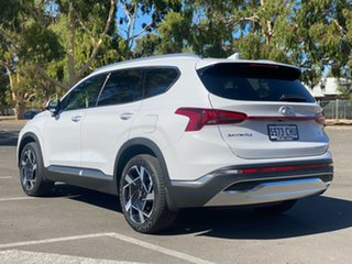 2020 Hyundai Santa Fe Tm.v3 MY21 Elite Glacier White 8 Speed Sports Automatic Wagon