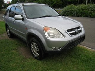 2003 Honda CR-V MY04 (4x4) Sport Silver 4 Speed Automatic Wagon