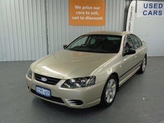 2007 Ford Falcon BF Mk II XT Gold 6 Speed Sports Automatic Sedan.