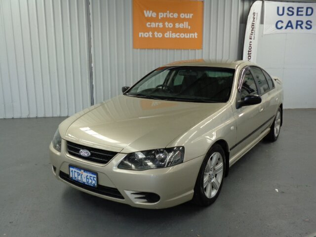 Used Ford Falcon BF Mk II XT Rockingham, 2007 Ford Falcon BF Mk II XT Gold 6 Speed Sports Automatic Sedan