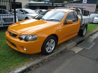 2007 Ford Falcon BF MkII XR6 Orange 5 Speed Manual Utility