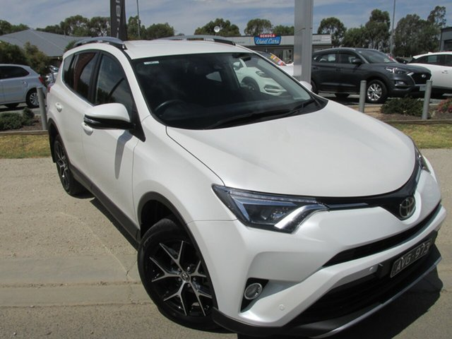 Used Toyota RAV4 ZSA42R GXL 2WD Echuca, 2018 Toyota RAV4 ZSA42R GXL 2WD White 7 Speed Constant Variable Wagon