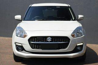 2020 Suzuki Swift AZ Series II GL Navigator Pure White 1 Speed Constant Variable Hatchback