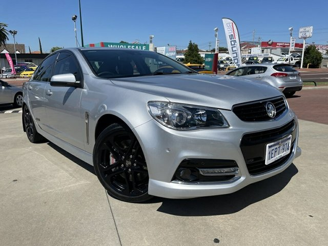 Used Holden Commodore VF MY15 SS V Redline Victoria Park, 2014 Holden Commodore VF MY15 SS V Redline Silver 6 Speed Sports Automatic Sedan
