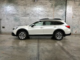 2017 Subaru Outback B6A MY18 2.5i CVT AWD Premium White 7 Speed Constant Variable Wagon