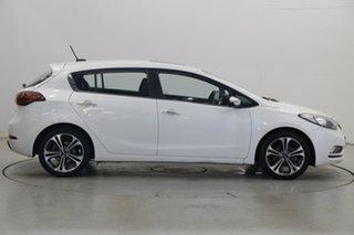 2015 Kia Cerato YD MY15 SLi Snow White Pearl 6 Speed Sports Automatic Hatchback