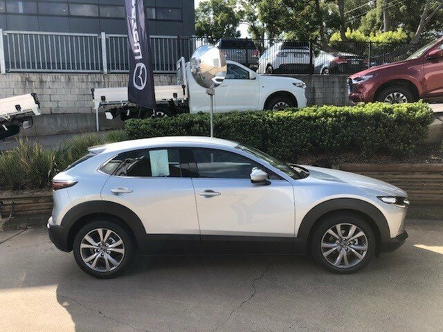 Demo Mazda CX-30 DM2W7A G20 SKYACTIV-Drive Touring Toowoomba, 2020 Mazda CX-30 DM2W7A G20 SKYACTIV-Drive Touring Sonic Silver 6 Speed Sports Automatic Wagon