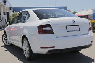 2019 Skoda Octavia NE MY19 110TSI Sedan DSG Moon White 7 Speed Sports Automatic Dual Clutch Liftback.