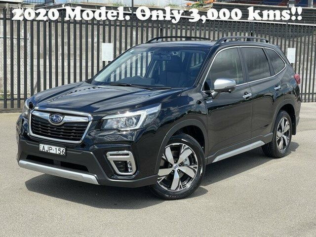 Used Subaru Forester S5 MY20 Hybrid S CVT AWD Newcastle, 2020 Subaru Forester S5 MY20 Hybrid S CVT AWD Black 7 Speed Constant Variable Wagon Hybrid
