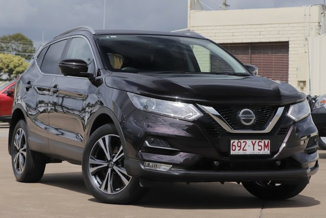 Used Nissan Qashqai J11 Series 2 ST-L X-tronic Bundamba, 2018 Nissan Qashqai J11 Series 2 ST-L X-tronic Nightshade 1 Speed Constant Variable Wagon