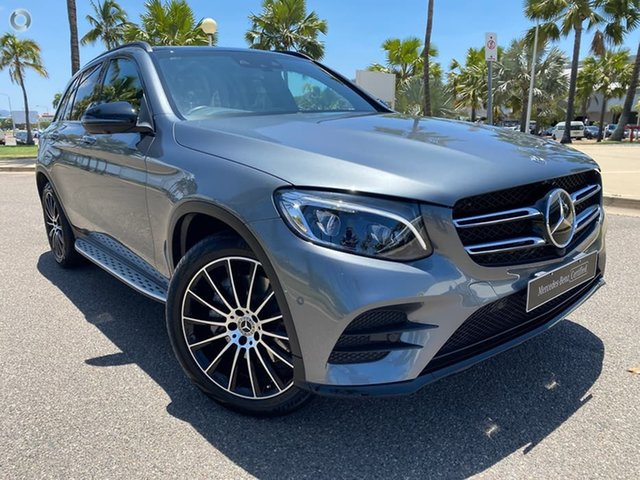 Used Mercedes-Benz GLC-Class X253 809MY GLC250 d 9G-Tronic 4MATIC Townsville, 2018 Mercedes-Benz GLC-Class X253 809MY GLC250 d 9G-Tronic 4MATIC Grey 9 Speed Sports Automatic