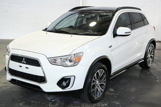 2016 Mitsubishi ASX XB MY15.5 XLS 2WD White 6 Speed Constant Variable Wagon