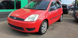 2004 Ford Fiesta WP LX Red 5 Speed Manual Hatchback.