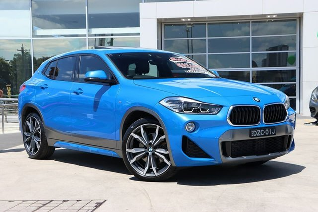 Used BMW X2 F39 sDrive20i Coupe DCT Steptronic M Sport Liverpool, 2018 BMW X2 F39 sDrive20i Coupe DCT Steptronic M Sport Misano Blue 7 Speed