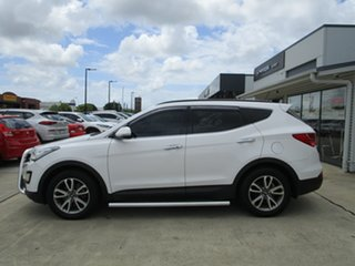 2014 Hyundai Santa Fe DM MY14 Elite White 6 Speed Sports Automatic Wagon