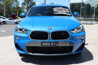 2018 BMW X2 F39 sDrive20i Coupe DCT Steptronic M Sport Misano Blue 7 Speed