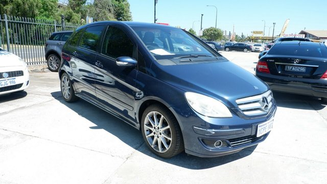 Used Mercedes-Benz B-Class W245 B200 St James, 2006 Mercedes-Benz B-Class W245 B200 Blue 7 Speed Constant Variable Hatchback