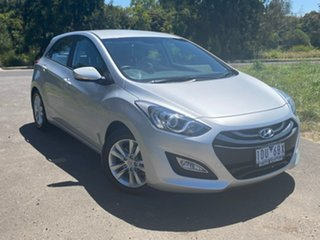 2014 Hyundai i30 GD2 SE Silver Sports Automatic Hatchback.