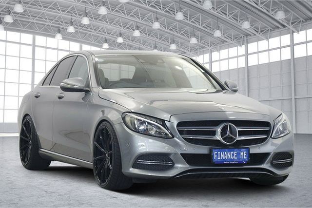 Used Mercedes-Benz C-Class W205 C250 7G-Tronic + Victoria Park, 2014 Mercedes-Benz C-Class W205 C250 7G-Tronic + Silver 7 Speed Sports Automatic Sedan