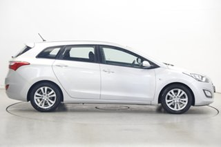 2013 Hyundai i30 GD Active Tourer Silver 6 Speed Manual Wagon