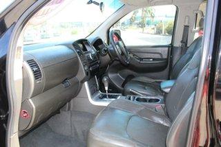 2014 Nissan Navara D40 MY12 ST-X 550 (4x4) Black 7 Speed Automatic Dual Cab Utility