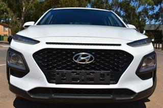 2017 Hyundai Kona OS MY18 Active 2WD White 6 Speed Sports Automatic Wagon.