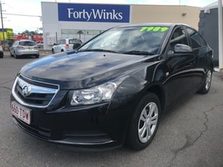 2009 Holden Cruze JG CD Black 5 Speed Manual Sedan