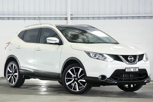 Used Nissan Qashqai J11 TI West Gosford, 2015 Nissan Qashqai J11 TI Pearl White 1 Speed Constant Variable Wagon