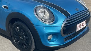 2015 Mini Hatch F56 Cooper Electric Blue 6 Speed Automatic Hatchback.