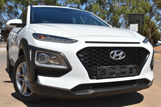 Used Hyundai Kona OS MY18 Active 2WD St Marys, 2017 Hyundai Kona OS MY18 Active 2WD White 6 Speed Sports Automatic Wagon